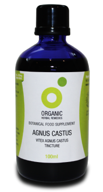 Vitex Agnus Castus Tincture 100ml | Organic Chaste Tree Berry